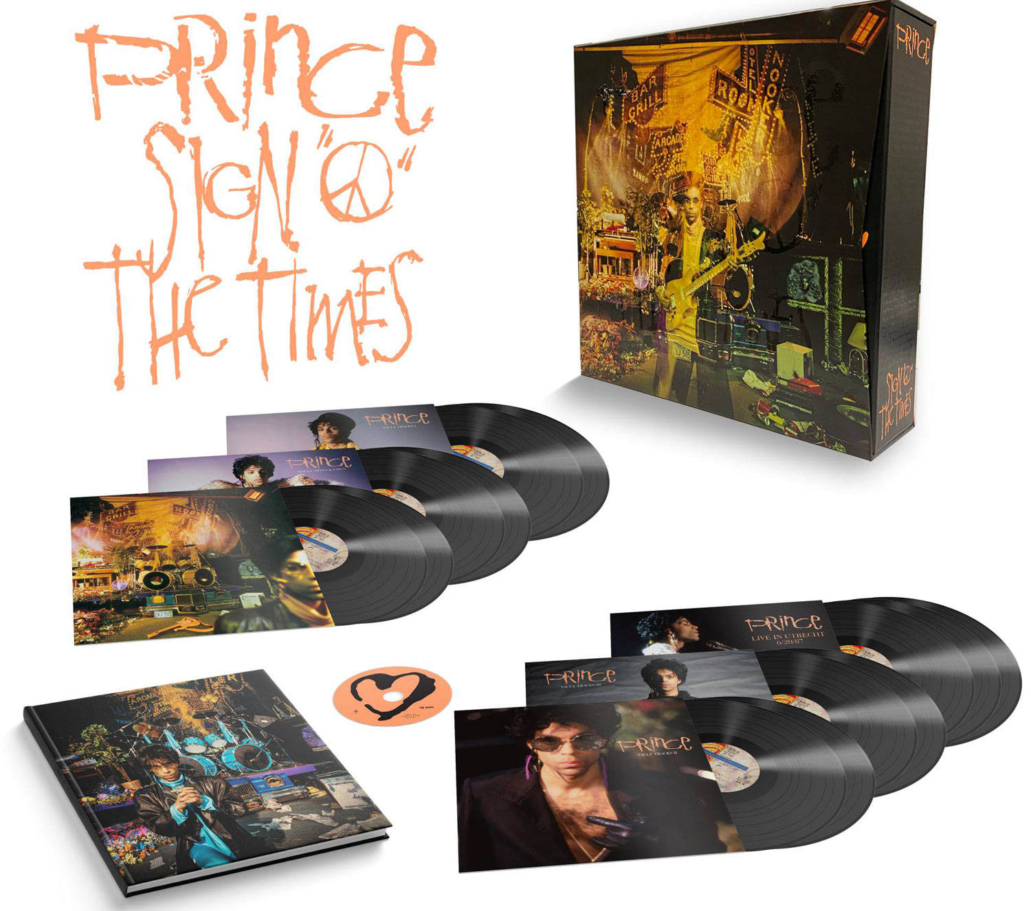 Prince Signs O' The  Times 13 LP και Dvd 2020
