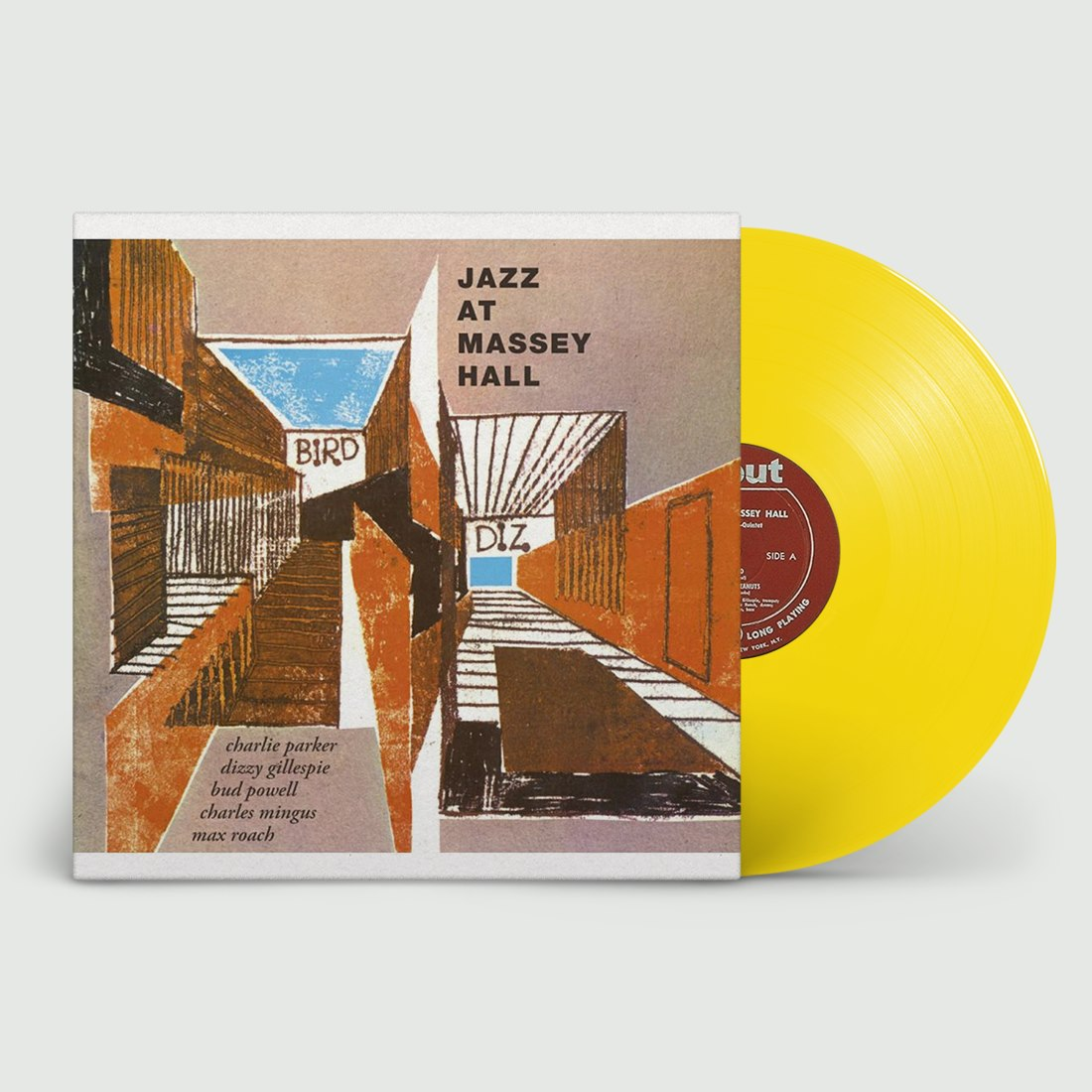 Charlie Parker Featuring Dizzy Gillespie, Bud Powell, Charles Mingus, Max Roach Jazz At Massey Hall (LP) 2020
